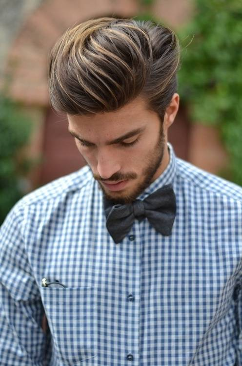 Classic Short Haircut For Men With Thick Hair