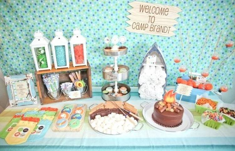 camping party decorations