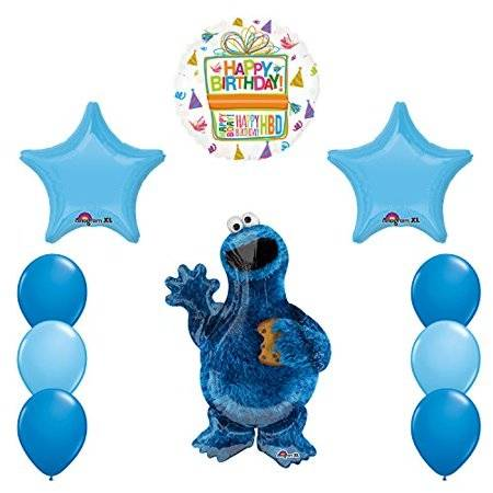 Check out this awesome Cookie Monster Sesame street Birthday Party!! The  table settings are so cool! See more party ideas and share yours at