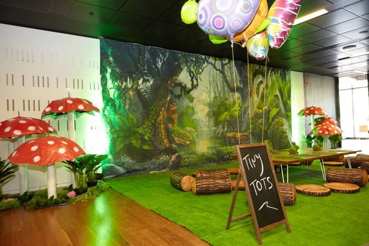 Linden & Lace created a boy/girl combined birthday party using the Enchanted  Forest Birthday Party Theme