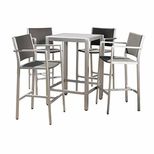 White, Aluminum Patio Furniture | Find Great Outdoor Seating & Dining Deals  Shopping at Overstock