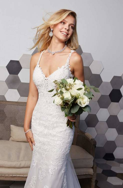 Divine gown from the 2015 Anne Barge collection, as seen on dressfinder