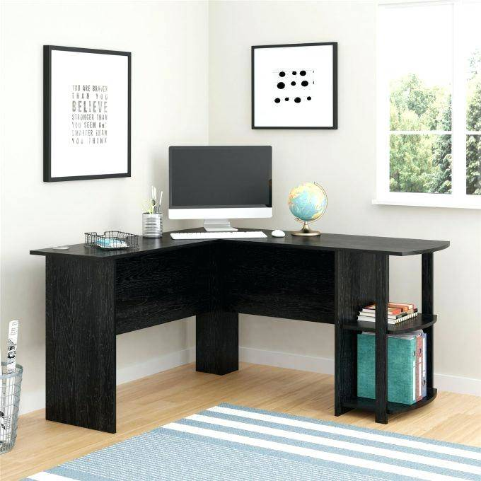 Charming Office L Shaped Desk With Decorating Home Ideas | Large
