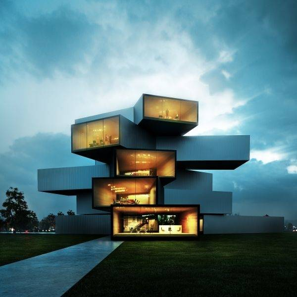 Modern House Final Hd Wallpaper | HD Architecture and Interior Wallpaper  Free Download