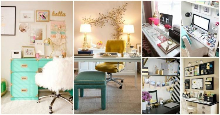 pretty practical home office ideas