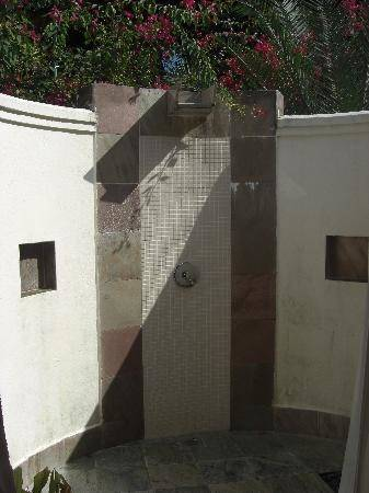 Outdoor Shower Stone Floor Bathroom Outdoor Modern With Stand Shower  Designs In Tropical House Ideas And Natural Stone Flooring Wooden Deck  Extraordinary