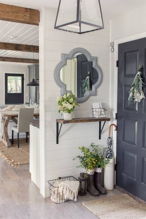 small entryway decor  decorating ideas