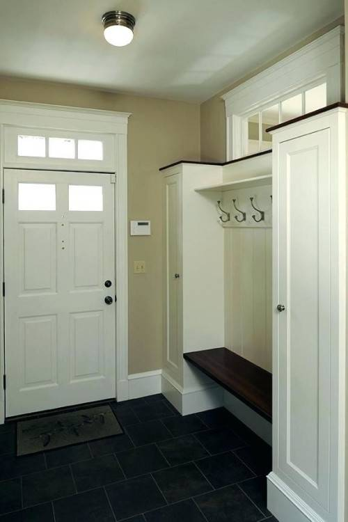 With winter fast approaching here in Alaska, this closet needed to become a  mudroom fast