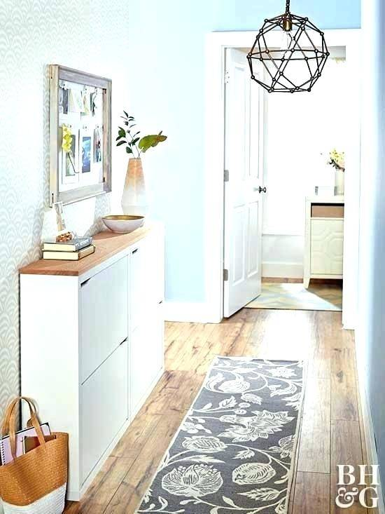 Long Hallway Decorating Ideas Lovely Wall Beside White Dining Table In Decor  Prepare