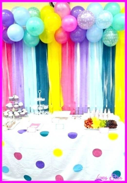 simple wall decoration ideas for party
