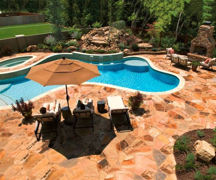 above ground pool deck design ideas building a around