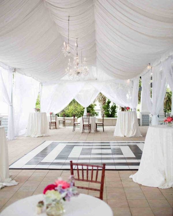 If you have a large garden or you are planning on renting space, a birthday  party in a tent would be really cool