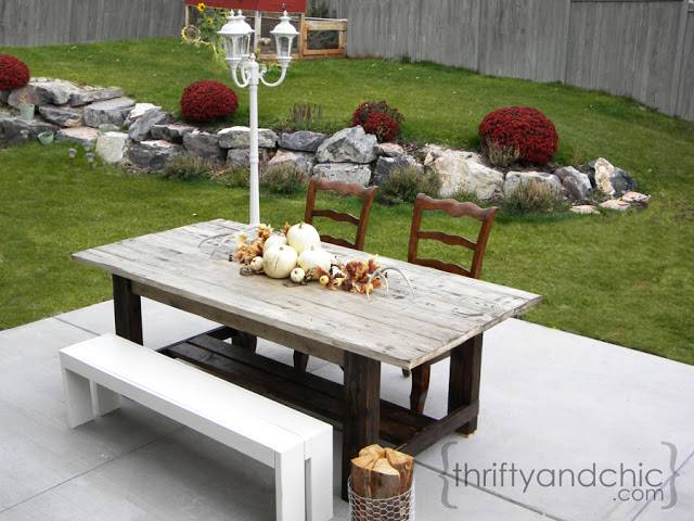 Rustic Farmhouse Furniture Patio Table Plans For Sale Coffee