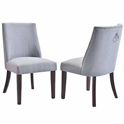 dining room chairs with nailhead