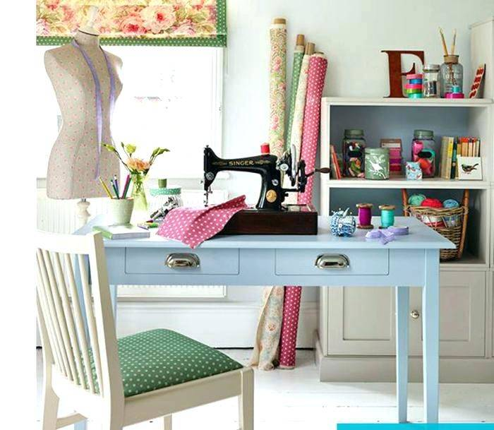 home office sewing room arrangement | Home Office/Sewing Room Combo |  Around the house good tips | Marlene's home office/sewing room | Pinterest  | Home