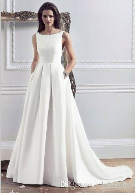 Here's a great starting point, with the five basic  wedding dress