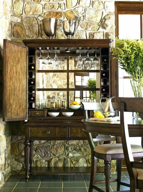 Fascinating Dining Room Armoire In 40 Beautiful House Plans Without  Formal Dining Room