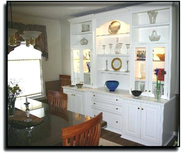 Dining  Room Cabinet Designs Organized Cabinets Design Built In Ideas