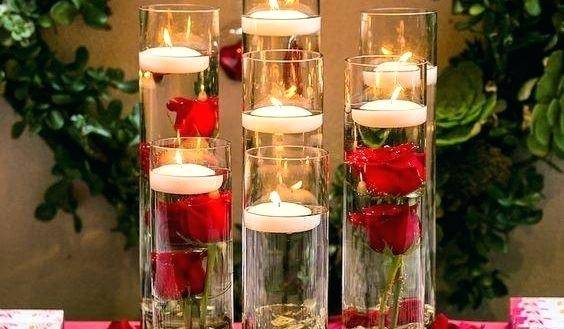 Formidable Candle Decorations For Wedding Ideas Tables Floatingterpiece  Weddings Decoration Unity 1600