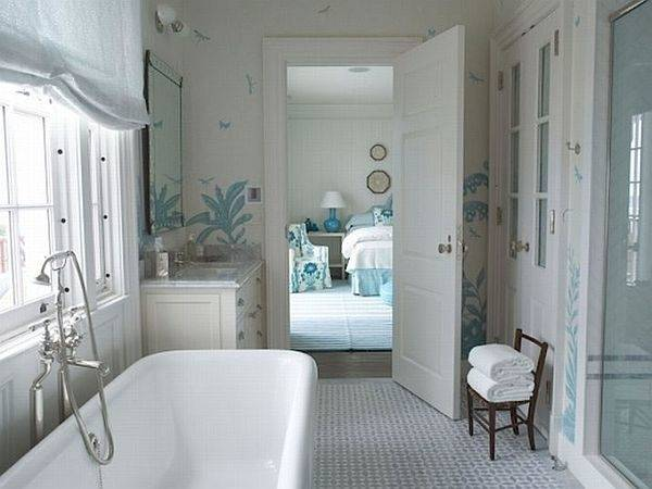 Beautiful Modern Bathroom Designs With With Soft And Neutral Color with  regard to Interior Design Ideas