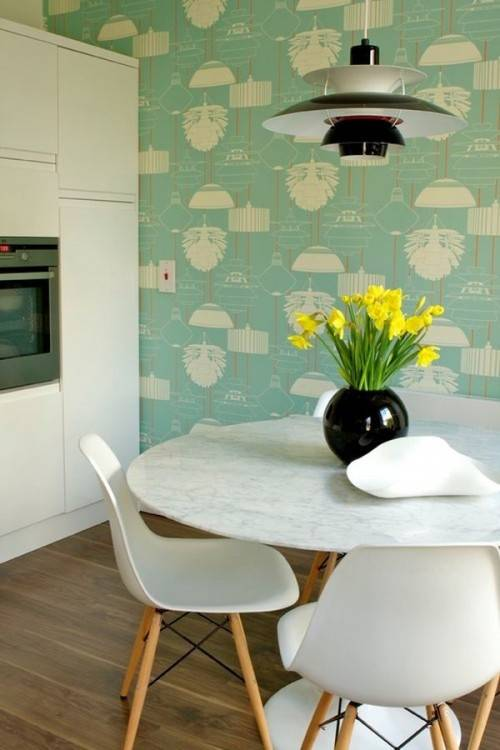 Recreating that charm from the 60's onwards, it can be done with simple  effort and it will favour your modern dining room