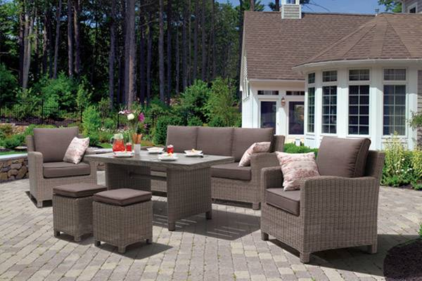 Rattan Coffee Table and 2 Chairs Set Garden Yard Outdoor Patio Wicker  Furniture Black