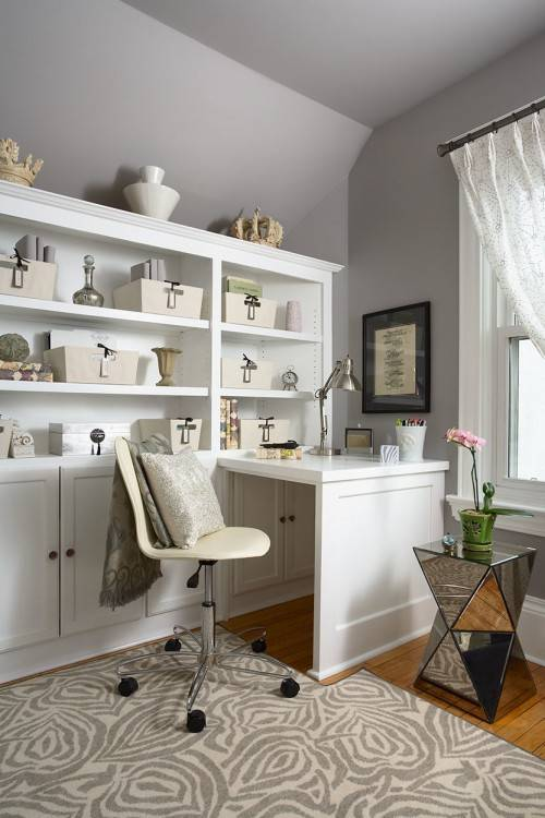 Find everything you  need to decorate your home office in a way that will inspire