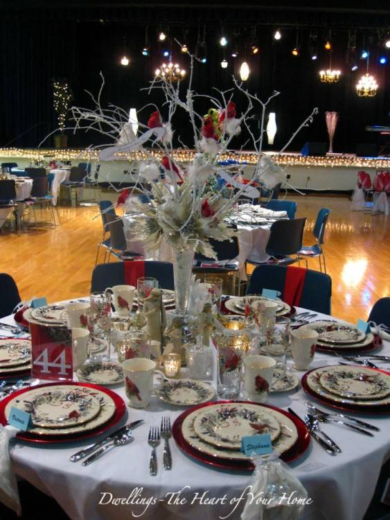 tea party table decorations