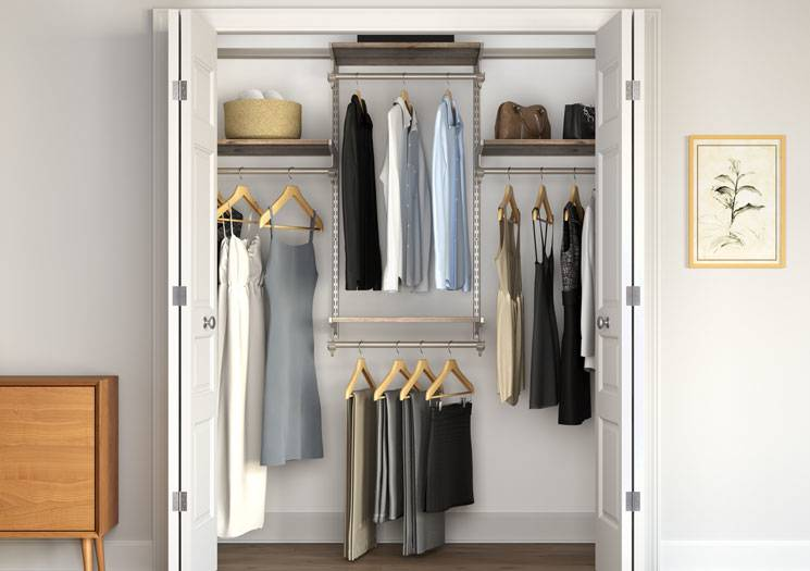 How to Build Pantry Shelves Building Basic Wood Shelves Kitchen Pantry  Makeover DIY Installing Wood Wrap Around Shelving DIY