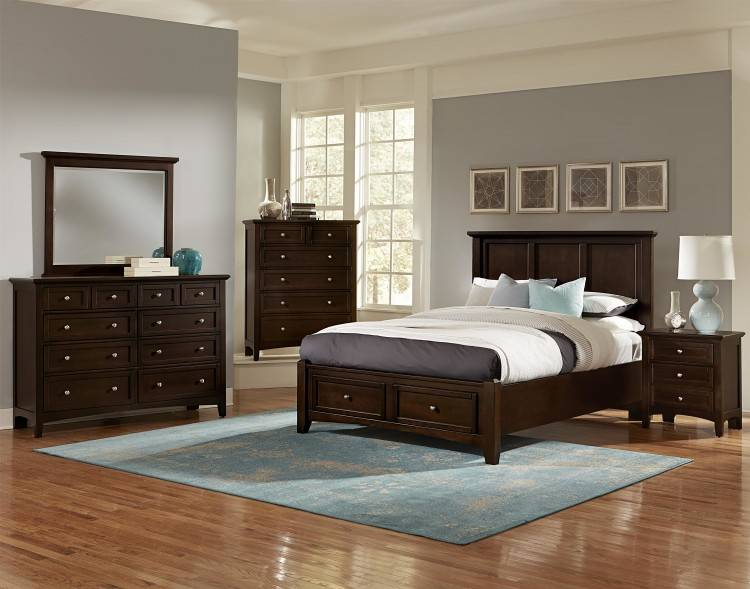 Furnitures Delightful Discontinued Bassett Bedroom Furniture Collections  2Fvaughan 2Fbonanza Bb29 Bpl B1 3