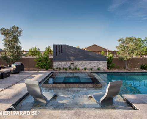 Shade structures are almost a requirement for every outdoor living area as  reprieve from the Arizona sun is always appreciated and necessary