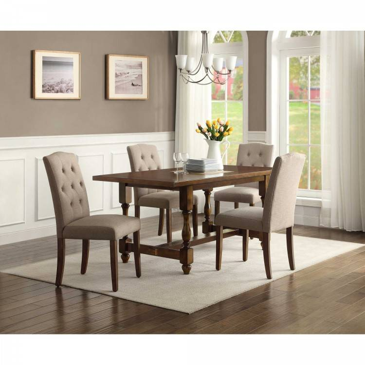 Mainstays Wood and Metal Dining Set