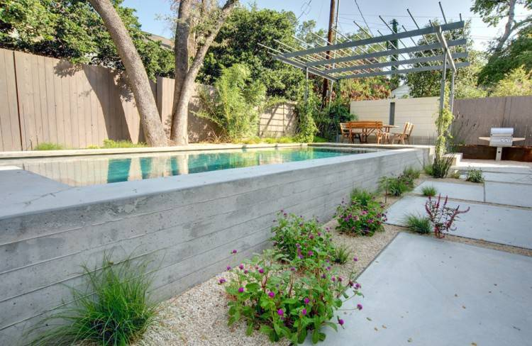 backyard above ground pools Backyard above ground pool ideas – large and  beautiful