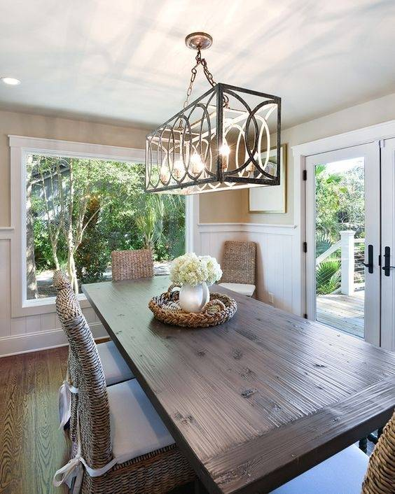 rectangular chandelier dining room image of chandeliers modern