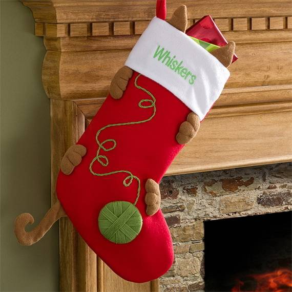 You can make everything from scarves and mittens for personalized gifts to  this beautiful crochet stocking