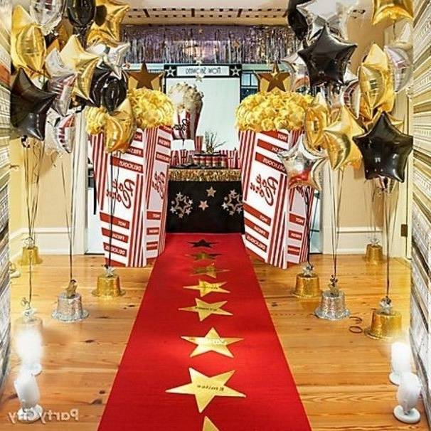 Hollywood theme party decorations ideas cool home design excellent