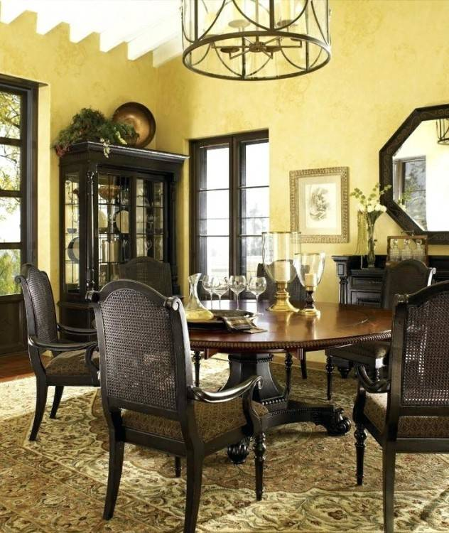 Tommy Bahama Cypress Point Dining Table in Gray