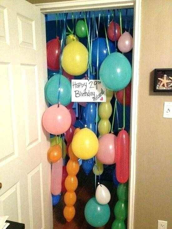 bday decoration ideas at home gallery a home a birthday party ideas at home  for husband