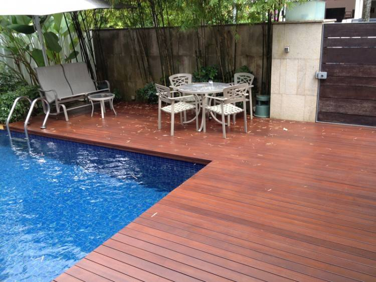 Full Size of Swimming Pool Average Cost Of Above Ground Pool With Deck Pool  Deck Designs