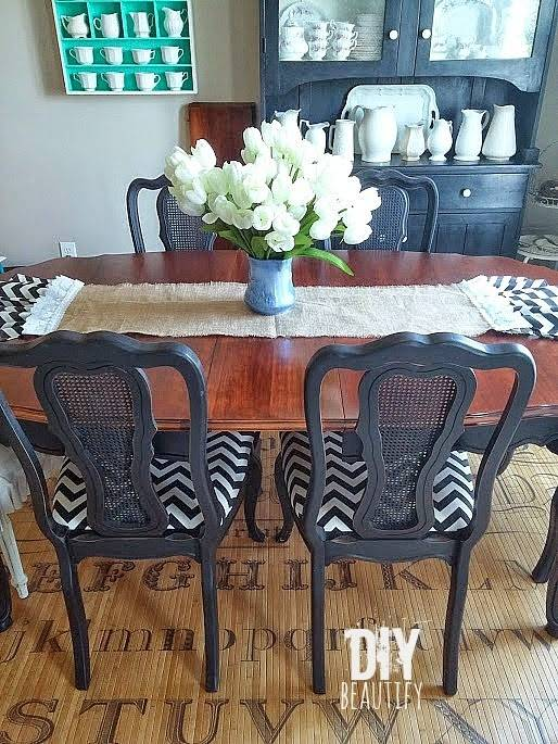 dining room table refinishing