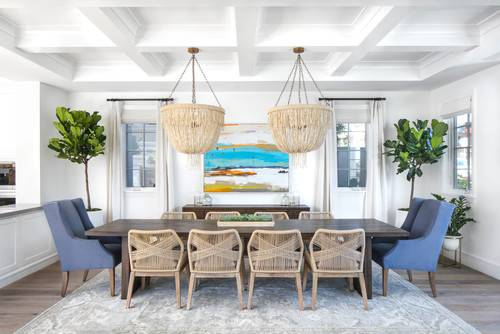 beachy dining room sets light blue white and red bistro chairs surround a  turquoise distressed dining