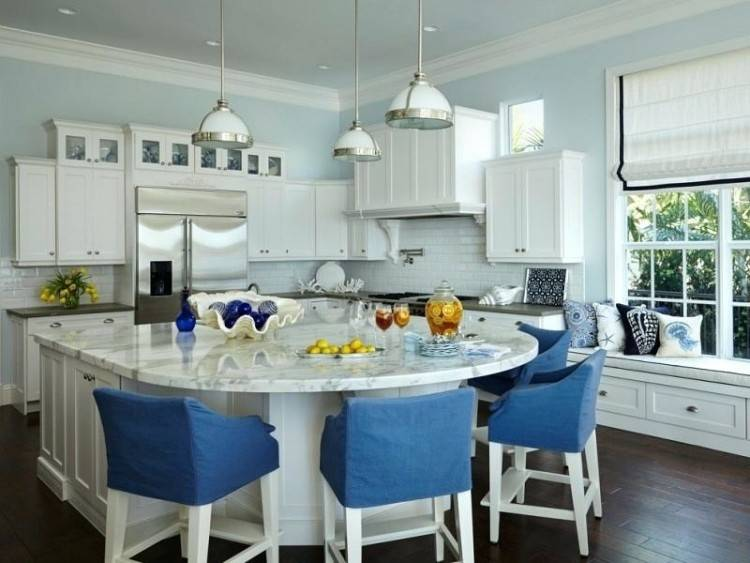 More Images Of Round Kitchen Island Designs Posts