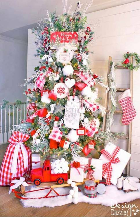 When talking about Christmas decorations, one of the first things that come  to mind for most is a Christmas tree