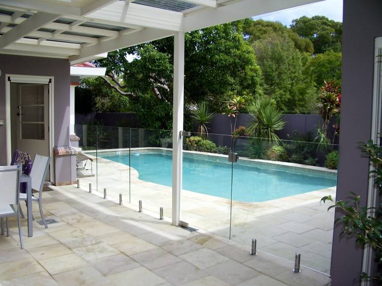 Create your own designer feature wall and add another visual element to  your outdoor pool or spa area