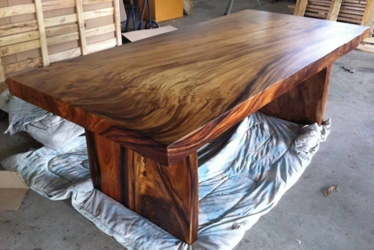 Solid Wooden Dining Table With 4 Chai