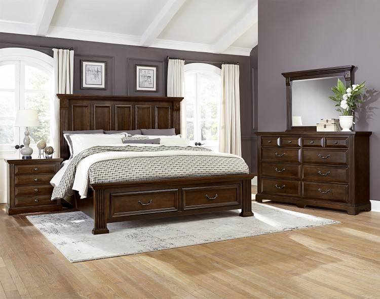 vaughan bedroom furniture cottage too queen group pilgrim