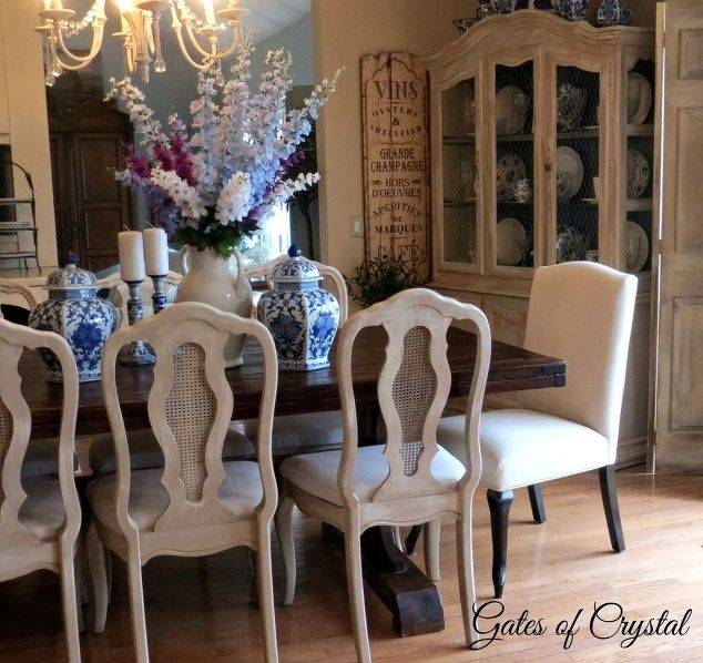 paint kitchen table interior refinish  and chairs