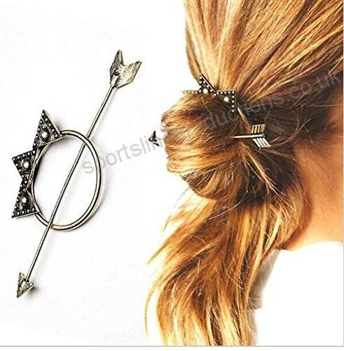 Wholesale 1 PC Moon Triangle Design Exquisite Metal Hair Clips Hairpins  Hairwear Accessories Women Fashion Jewelry Free shipping online direct from  China