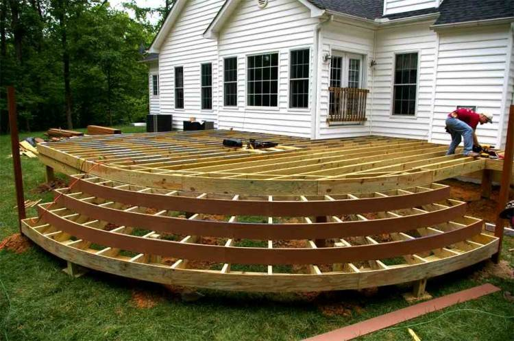 semi inground pools with decks semi pools with wood deck home ideas benefit pool  decks building