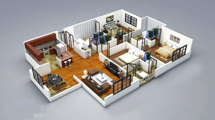 3d house design online kitchen design and floor plans created using home  designer plan 3d online